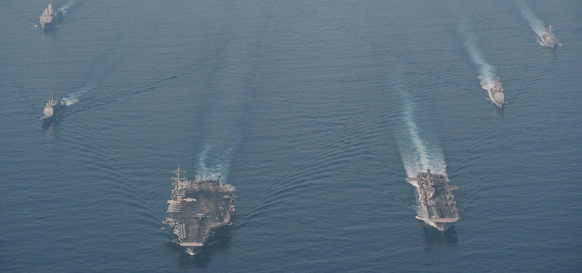 अमेरिकी, फिलीपीन फ्लेट्स चुनौती संभावित रीफ जब्ती के रूप में चीन ब्लिंक करता है