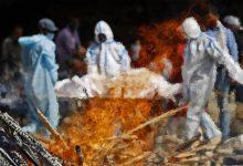 भारत में कोविद -19 संकट से परेशान चित्र