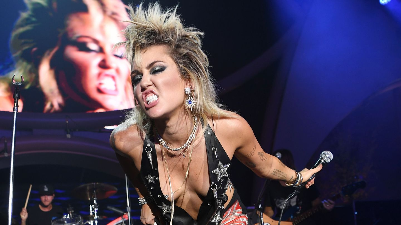 Hear Miley Cyrus's Glam-Rock Take On Cocteau Twins's 'Heaven Or Las Vegas'