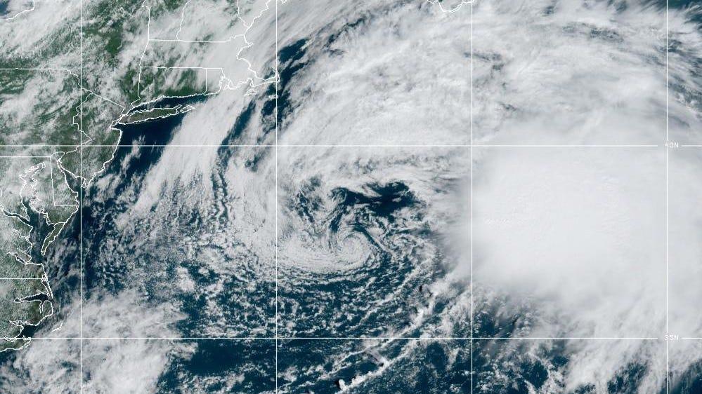 उष्णकटिबंधीय तूफान ओडेट पीटर के गठन के साथ पूर्वी तट से दूर घूमता है क्योंकि तूफान का मौसम धीमा होने का कोई संकेत नहीं दिखाता है