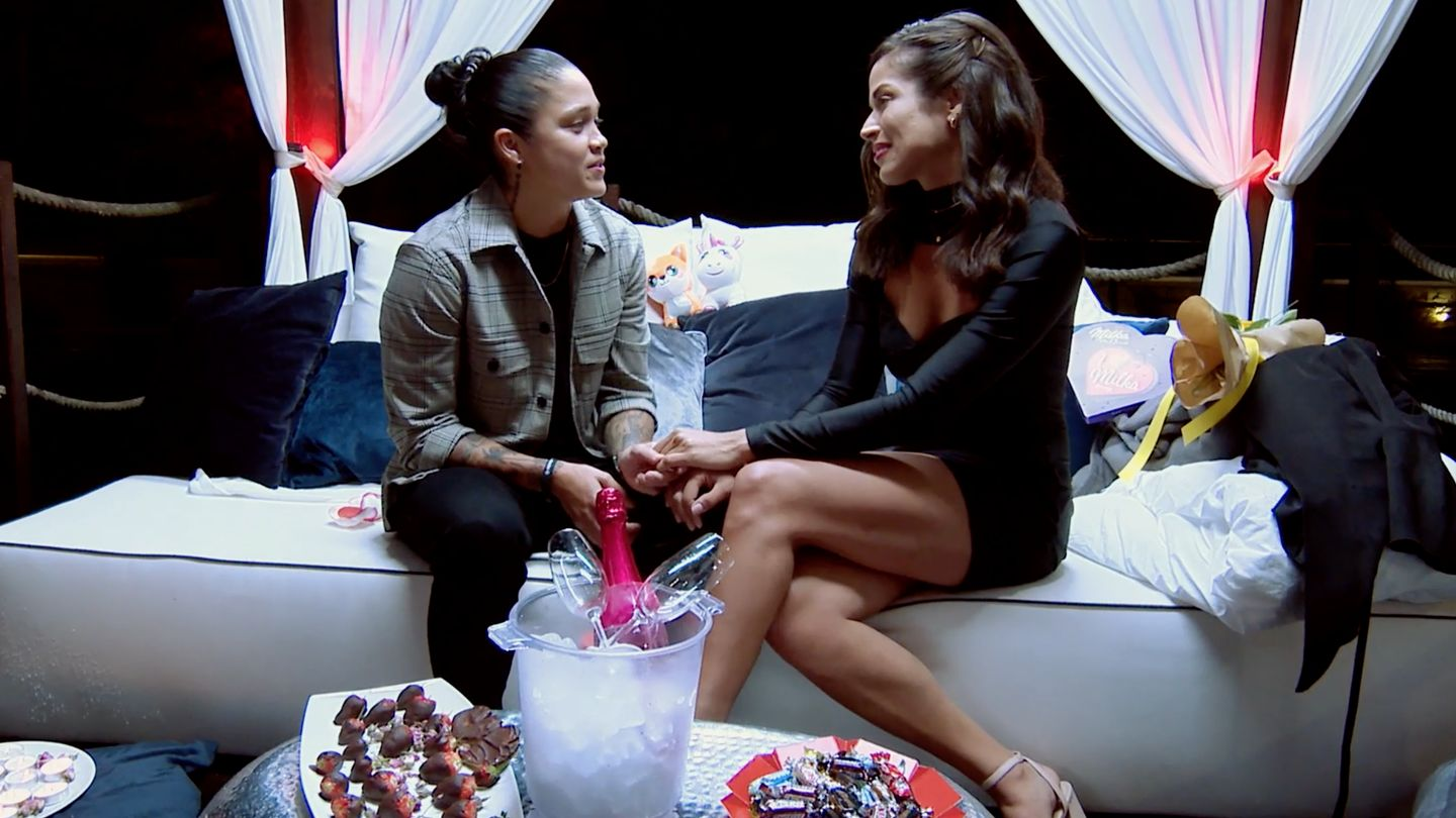'You Deserve To Be Loved': Kaycee And Nany Went On Their Very First Challenge Date